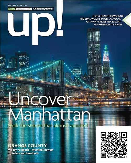 Obálka časopisu s QR kódom
