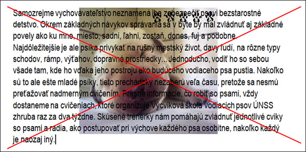 Príklad textu nachádzajúceho sa na obrázku